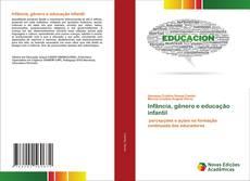 Buchcover von Infância, gênero e educação infantil