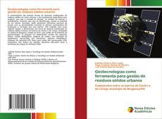 Capa do livro de Geotecnologias como ferramenta para gestão de resíduos sólidos urbanos