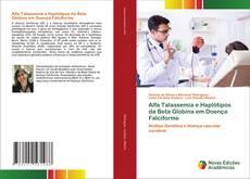 Capa do livro de Alfa Talassemia e Haplótipos da Beta Globina em Doença Falciforme