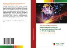 Capa do livro de Abordagem humanista-fenomenológica existencial centrada na pessoa: