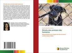 Buchcover von Direito dos animais não humanos