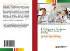 Capa do livro de O Feminismo e os Paradigmas emergentes no Ensino de Química