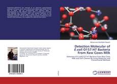 Buchcover von Detection Molecular of E.coli O157:H7 Bacteria From Raw Cows Milk