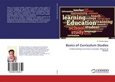 Portada del libro de Basics of Curriculum Studies