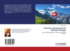Bookcover of Forestry, Governance & Climate Change