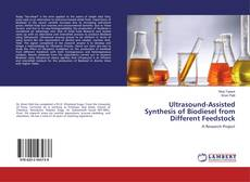 Обложка Ultrasound-Assisted Synthesis of Biodiesel from Different Feedstock