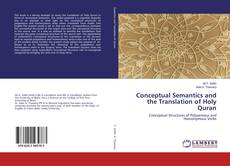 Capa do livro de Conceptual Semantics and the Translation of Holy Quran