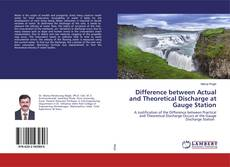 Difference between Actual and Theoretical Discharge at Gauge Station的封面