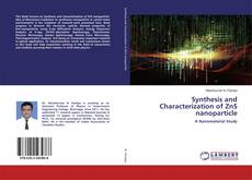 Capa do livro de Synthesis and Characterization of ZnS nanoparticle