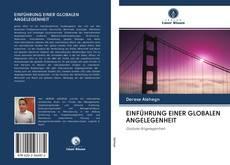Portada del libro de EINFÜHRUNG EINER GLOBALEN ANGELEGENHEIT