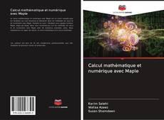 Portada del libro de Calcul mathématique et numérique avec Maple