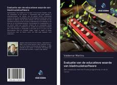 Capa do livro de Evaluatie van de educatieve waarde van bladmuzieksoftware