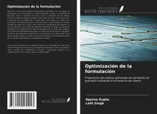Обложка Optimización de la formulación