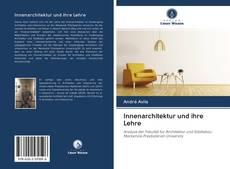Borítókép a  Innenarchitektur und ihre Lehre - hoz