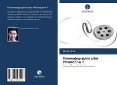 Copertina di Kinematographie oder Philosophie ?