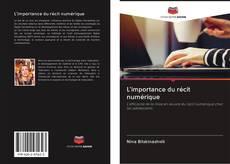 Capa do livro de L'importance du récit numérique