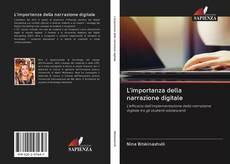 Buchcover von L'importanza della narrazione digitale