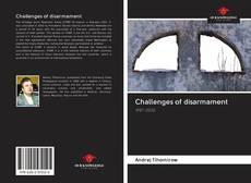 Bookcover of Challenges of disarmament