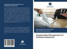 Buchcover von Angewandtes Management für Arbeitszufriedenheit
