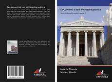 Bookcover of Documenti di tesi di filosofia politica