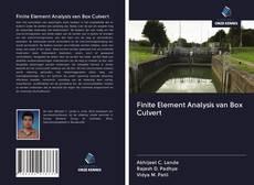 Finite Element Analysis van Box Culvert的封面