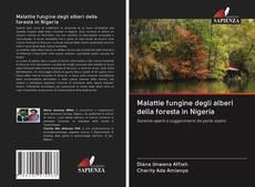 Portada del libro de Malattie fungine degli alberi della foresta in Nigeria