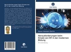 Bookcover of Herausforderungen beim Einsatz von IKT in der modernen Bildung