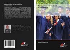 Copertina di Fondamenti socio-culturali di Educazione