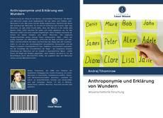Couverture de Anthroponymie und Erklärung von Wundern