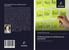 Copertina di Anthroponymie en verklaring van wonderen