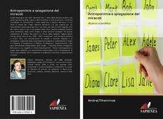 Bookcover of Antroponimia e spiegazione dei miracoli