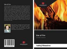 Buchcover von Use of fire