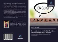 Borítókép a  De problemen van het onderwijzen van zinnen aan de studenten - hoz