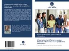 Capa do livro de Wissensstand und Faktoren zu den Rechten auf sexuelle und reproduktive Gesundheit