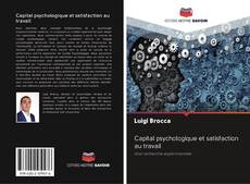 Capital psychologique et satisfaction au travail的封面