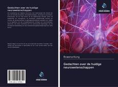 Buchcover von Gedachten over de huidige neurowetenschappen