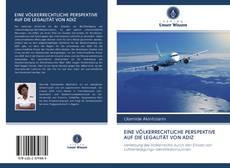 Bookcover of EINE VÖLKERRECHTLICHE PERSPEKTIVE AUF DIE LEGALITÄT VON ADIZ