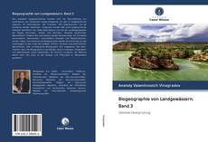 Buchcover von Biogeographie von Landgewässern. Band 3