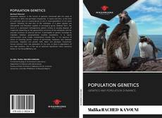 Couverture de POPULATION GENETICS