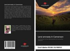 Bookcover of Land amnesty in Cameroon