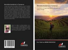 Capa do livro de Amnistia fondiaria in Camerun