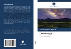 Ökotheologie kitap kapağı