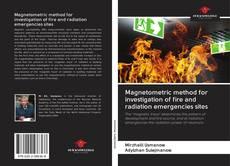 Capa do livro de Magnetometric method for investigation of fire and radiation emergencies sites