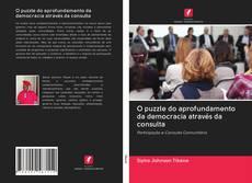 Capa do livro de O puzzle do aprofundamento da democracia através da consulta