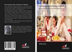 Buchcover von Formazione del carattere cristiano
