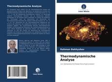 Bookcover of Thermodynamische Analyse