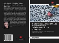 Buchcover von THE LENIENCY AGREEMENT AND THE TERMINATION COMMITMENT IN LAW 12.529/2011