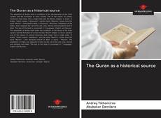 Bookcover of The Quran as a historical source