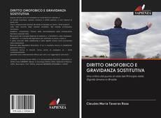 Capa do livro de DIRITTO OMOFOBICO E GRAVIDANZA SOSTITUTIVA