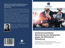Bookcover of Verfahrensrechtliche Behandlung von Verbrechen gegen die öffentliche Verwaltung